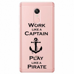Etui na telefon Xiaomi Redmi 5 - Work like a Captain…