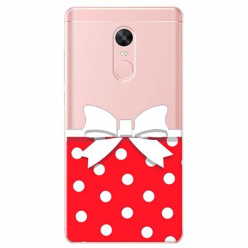 Etui na telefon Xiaomi Redmi 5 - Gustowna kokardka.