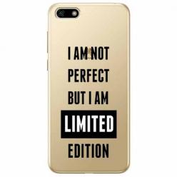 Etui na telefon Huawei Y5 2018 - I Am not perfect…