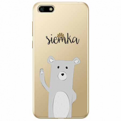 Etui na telefon Huawei Y5 2018 - Misio Siemka.