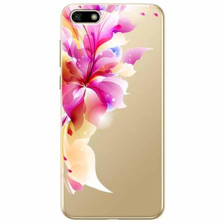 Etui na telefon Huawei Y5 2018 - Bajeczny kwiat.