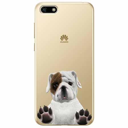 Etui na telefon Huawei Y5 2018 - Słodki szczeniaczek.