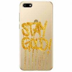Etui na telefon Huawei Y5 2018 - Stay Gold.