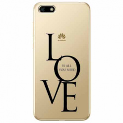 Etui na telefon Huawei Y5 2018 - All you need is LOVE.