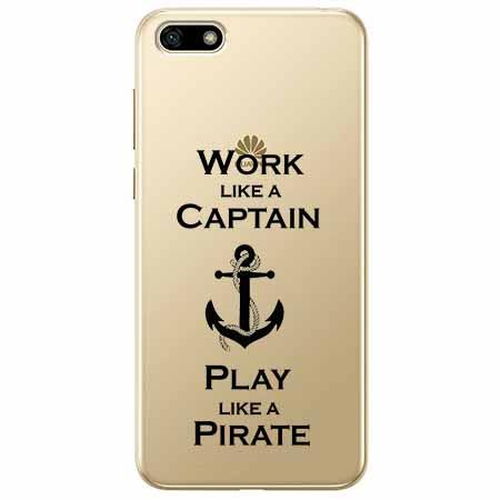 Etui na telefon Huawei Y5 2018 - Work like a Captain…