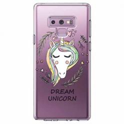 Etui na Samsung Galaxy Note 9 - Dream unicorn - Jednorożec.