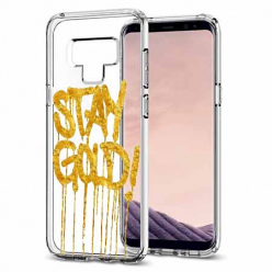 Etui na Samsung Galaxy Note 9 - Stay Gold.