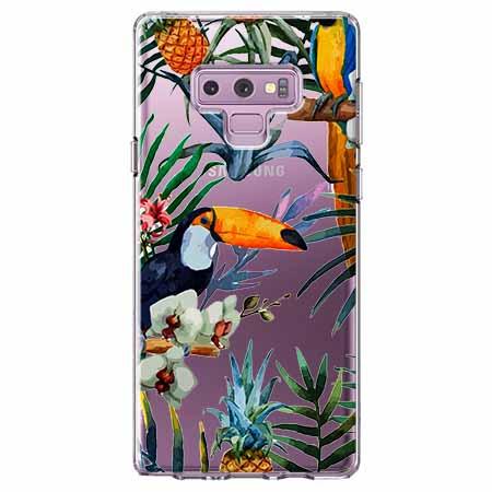 Etui na Samsung Galaxy Note 9 - Egzotyczne tukany.