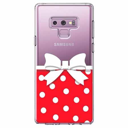 Etui na Samsung Galaxy Note 9 - Gustowna kokardka.