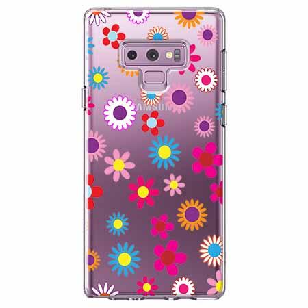 Etui na Samsung Galaxy Note 9 - Kolorowe stokrotki.