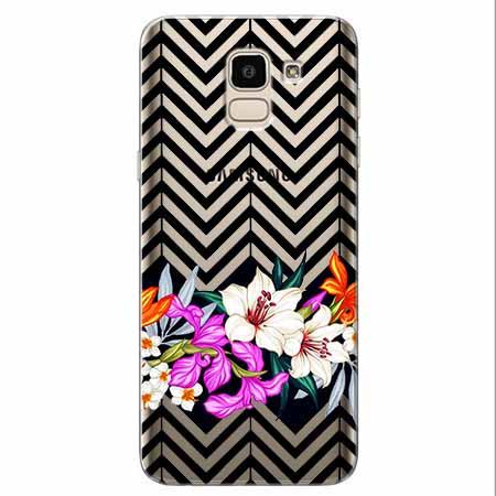 Etui na Samsung Galaxy J6 2018 - Kwiatowy bukiet dla Ciebie.