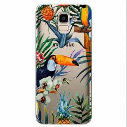 Etui na Samsung Galaxy J6 2018 - Egzotyczne tukany.