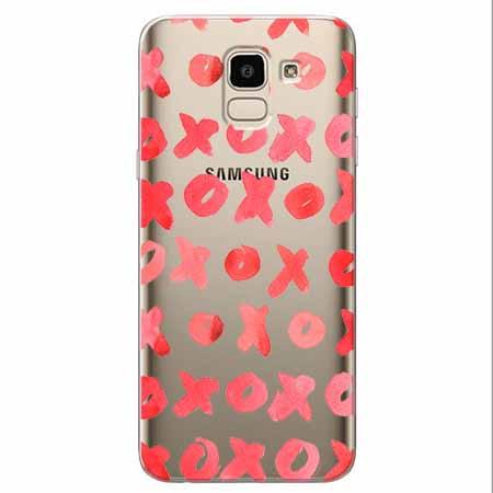 Etui na Samsung Galaxy J6 2018 - XO XO XO.