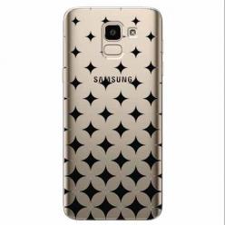 Etui na Samsung Galaxy J6 2018 - Diamentowy gradient.