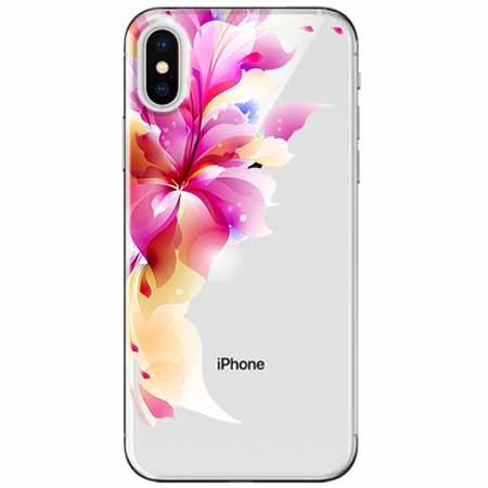 Etui na telefon Apple iPhone XS Max -  Bajeczny kwiat.