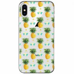 Etui na telefon Apple iPhone XS Max - Ananasowe szaleństwo.