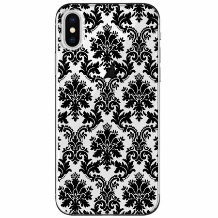 Etui na telefon Apple iPhone XS Max -  Damaszkowa elegancja.
