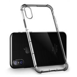 Etui na iPhone XS - ROCK Fence przezroczyste etui silikonowe Air-Cushion.
