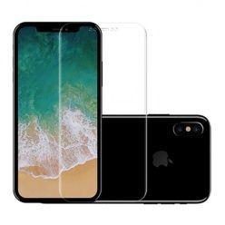 Hartowane szkło na cały ekran 5d iPhone XS - Bezbarwny.