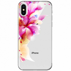 Etui na telefon Apple iPhone XS - Bajeczny kwiat.