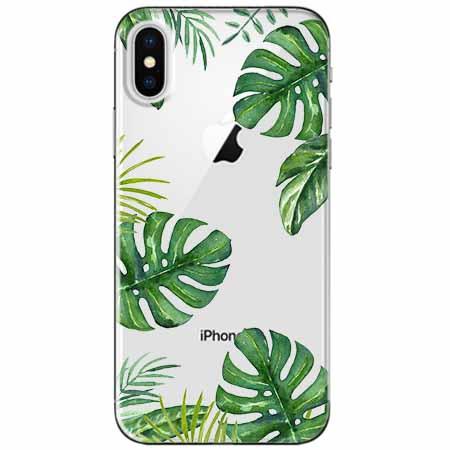 Etui na telefon Apple iPhone XS - Welcome to the jungle.
