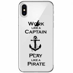 Etui na telefon Apple iPhone XS - Work like a Captain…