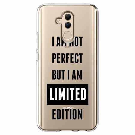Etui na telefon Huawei Mate 20 Lite - I Am not perfect…