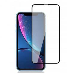 Apple iPhone XR hartowane szkło 5D Full Glue - Czarny.