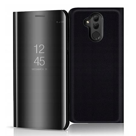Etui na Huawei Mate 20 Lite - Flip Clear View z klapką - Czarny.