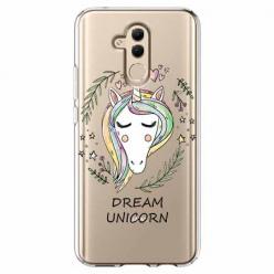 Etui na telefon Huawei Mate 20 Lite - Dream unicorn - Jednorożec.