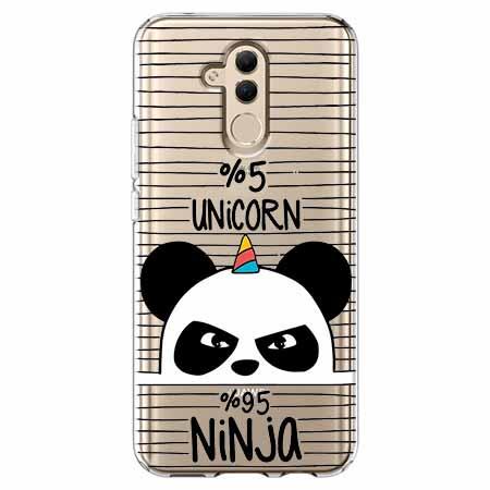 Etui na telefon Huawei Mate 20 Lite - Ninja Unicorn - Jednorożec.