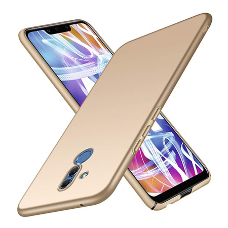 Etui na telefon Huawei Mate 20 Lite - Slim MattE - Złoty.