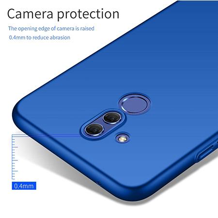 Etui na telefon Huawei Mate 20 Lite - Slim MattE - Granatowy.