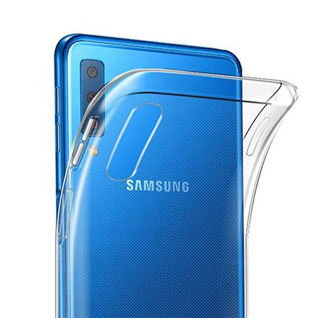 Etui na Samsung Galaxy A7 2018 - Egzotyczne liście monstery