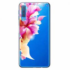 Etui na Samsung Galaxy A7 2018 - Bajeczny kwiat.