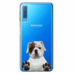 Etui na Samsung Galaxy A7 2018 - Słodki szczeniaczek.
