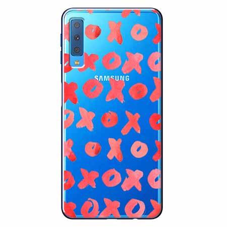 Etui na Samsung Galaxy A7 2018 - XO XO XO.