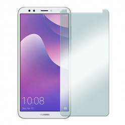 Huawei Y7 Prime 2018 - hartowane szkło ochronne na ekran 9h.