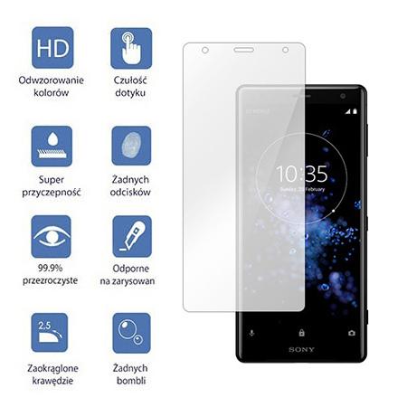 Sony Xperia XZ2 - hartowane szkło ochronne na ekran 9h.