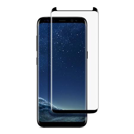 Samsung Galaxy S8 Plus - hartowane szkło 5D na cały ekran - Czarny.