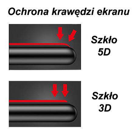Huawei Mate 20 Lite hartowane szkło 5D Full Glue - Czarny.