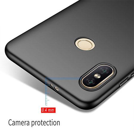 Etui na telefon Xiaomi Redmi S2 - Slim MattE - Czarny.
