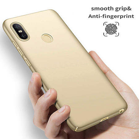 Etui na telefon Xiaomi Redmi S2 - Slim MattE - Złoty.