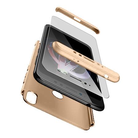 Etui na telefon Xiaomi Redmi S2 - Slim MattE 360 - Złoty.