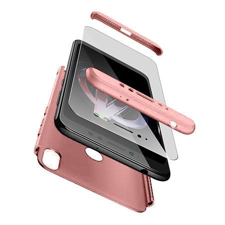 Etui na telefon Xiaomi Redmi S2 - Slim MattE 360 - Różowy.