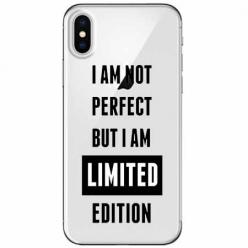 Etui na telefon Apple iPhone X - I Am not perfect…