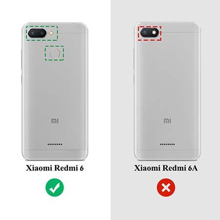 Etui na Xiaomi Redmi 6 - Złote koniczynki.