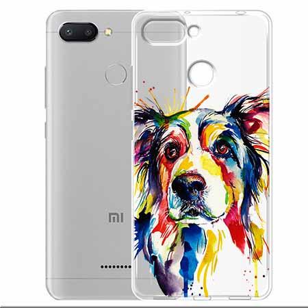 Etui na Xiaomi Redmi 6 - Watercolor pies.