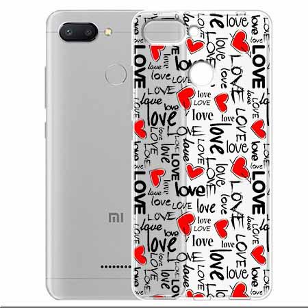 Etui na Xiaomi Redmi 6 - Love, love, love…