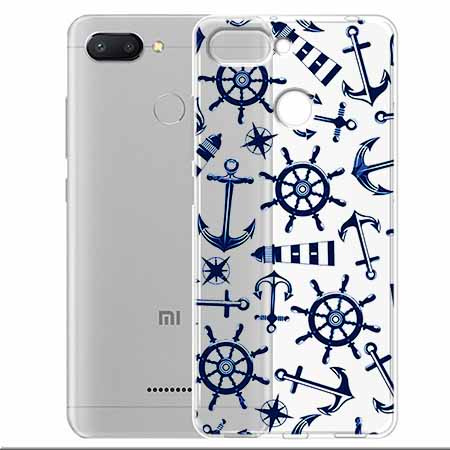 Etui na Xiaomi Redmi 6 - Ahoj wilki morskie.